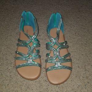 NWOT Torrid Gladiator Sandals
